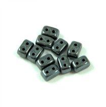 Ios® par Puca®gyöngy - hematite - 5.5x2.5 mm