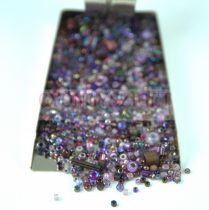 Japanese mixed beads - Purple - 30g