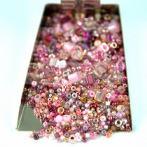 Japanese mixed beads - Rose - 30g