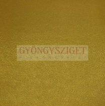 Juh nappa bőr - metallic brown gold - 10x10cm