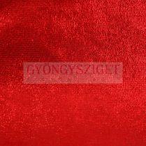 Juh nappa bőr - red glitter - 10x10cm