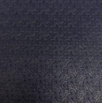 Juh nappa bőr - Dark Navy Print - 10x10cm
