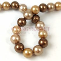 Shell bead - Mix - 8mm - on a strand