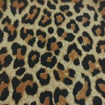 Kecske nappa bőr - Leopard - 10x10cm