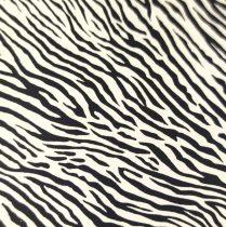 Kecske nappa bőr - Zebra - 10x10cm