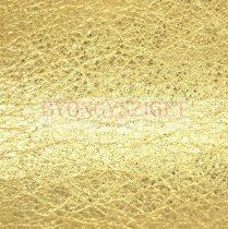 Kecske bőr - gold - 10x10cm