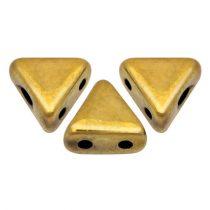 Kheops® par Puca®gyöngy - Crystal Full Amber -6mm