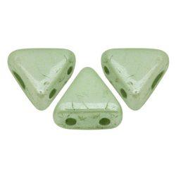 Kheops® par Puca®gyöngy - fehér zöldesszürke márvány -6mm