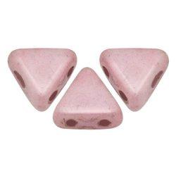 Kheops® par Puca®gyöngy - White Pink Luster - 6mm