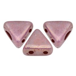 Kheops® par Puca®gyöngy - telt fehér mályva márvány -6mm