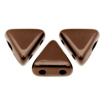 Kheops® par Puca®gyöngy - Jet Copper -6mm