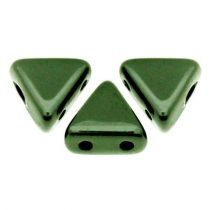 Kheops® par Puca®gyöngy - metallic green -6mm