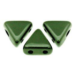 Kheops® par Puca®gyöngy - metallic green -6mm