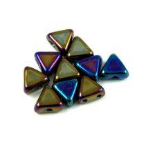 Kheops® par Puca®gyöngy - jet blue green iris - 6mm