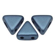 Kheops® par Puca®gyöngy - matte metallic blue -6mm