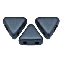 Kheops® par Puca®gyöngy - matte metallic dark blue -6mm