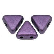Kheops® par Puca®gyöngy - Matte Metallic Plum - 6mm