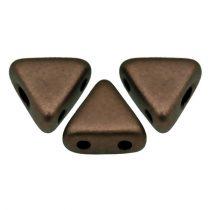 Kheops® par Puca®gyöngy - matte dark bronz -6mm