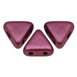 Kheops® par Puca®gyöngy - polichrome copper red -6mm