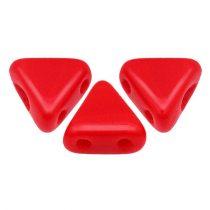 Kheops® par Puca®gyöngy - telt piros -6mm
