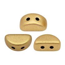 Kos® par Puca®gyöngy - Aztec Gold -3x6mm