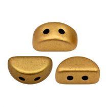 Kos® par Puca®gyöngy - brass gold -3x6mm
