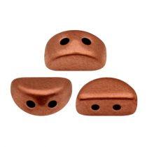 Kos® par Puca®gyöngy - matte rust -3x6mm