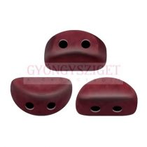 Kos® par Puca®gyöngy - Opaque Light Coral Burgundy - 3x6mm