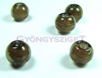 Lampbead - olivin round bead-cca12mm