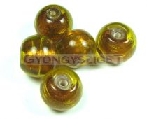 Lampbead - topas round bead-cca12mm