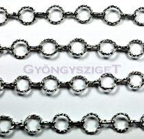 Chain - Round Cable - Platinum Colour