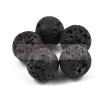 Lávakő gyöngy - 20mm
