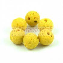 Lávakő - golyó - Mustard - 8mm