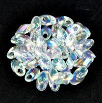 Miyuki long magatama gyöngy  - 250 - Rainbow Crystal - 15g - AKCIOS