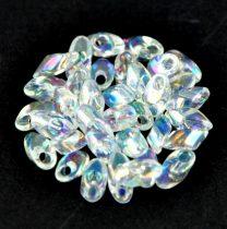Miyuki long magatama gyöngy  - 250 - Rainbow Crystal
