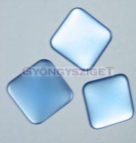 Lunasoft négyzet alakú kaboson - light zafír - 22mm