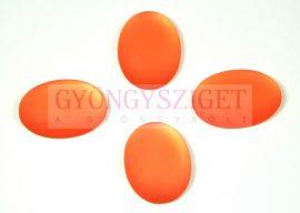 Lunasoft ovális kaboson - light peach - 13.5x18.5mm