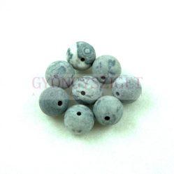 Map Stone golyó gyöngy - matt - 12mm