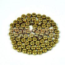 Matubo kásagyöngy - crystal full amber - 8/0