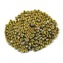 Matubo - crystal half amber - 8/0