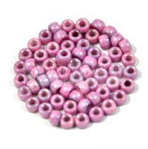 Matubo kásagyöngy - fehér rózsaszín lüszter - 7/0