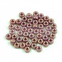 Matubo kásagyöngy - Chalk White Violet Gold Luster - 8/0