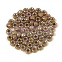 Matubo seedbead - brown lilac bronze luster - 8/0