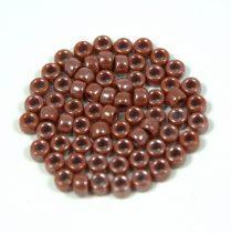 Matubo kásagyöngy - lüszteres csokoládé - 7/0