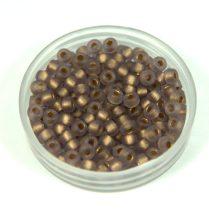 Matubo kásagyöngy - Gold Lined Frosted Tanzanite - 8/0
