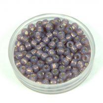 Matubo seedbead - silky milky purple - 8/0