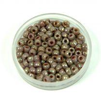 Matubo seedbead - violet picasso - 8/0
