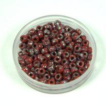 Matubo kásagyöngy - dark red picasso - 8/0