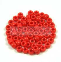 Matubo seedbead- opaque red - 7/0