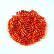 Miyuki szalmagyöngy - 10 - Silver Lined Red - 3mm